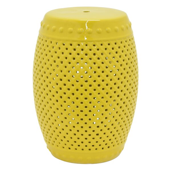 Baucom Garden Stool by Bungalow Rose