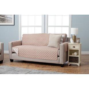 Adalyn Diamond Geo Box Cushion Sofa Slipcover