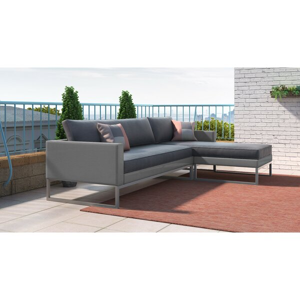 Tropez Patio Sectional with Cushions by Elle Decor Elle Decor