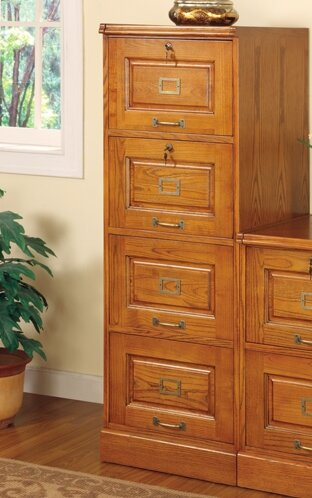Paulina 4-Drawer File Cabinet by Wildon Home ®