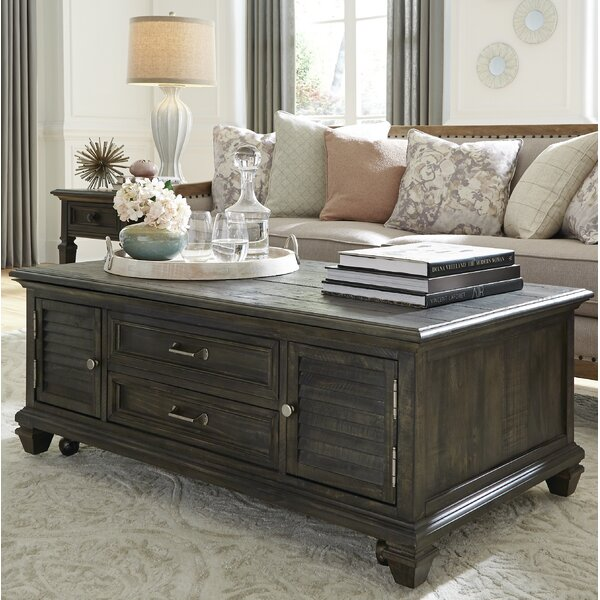 Heitman Lift Top Coffee Table by August Grove