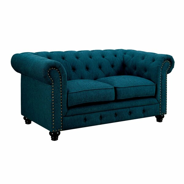 Chappell Chesterfield Loveseat By House Of Hampton