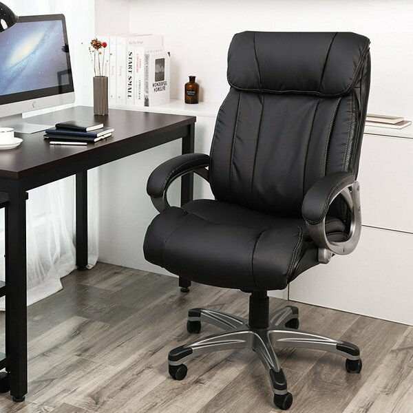 Estaugh Ergonomic Executive Chair by Rebrilliant