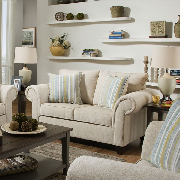 Modern Brand Cowan Loveseat by Highland Dunes by Highland Dunes