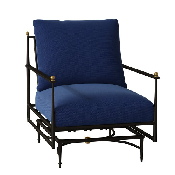 Roma Spring Patio Chair with Cushion by Summer Classics