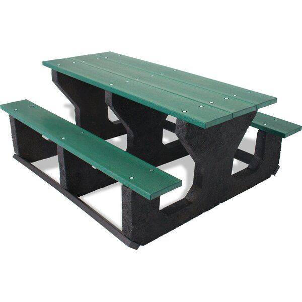Carty Plastic/Resin Picnic Table by Freeport Park Freeport Park