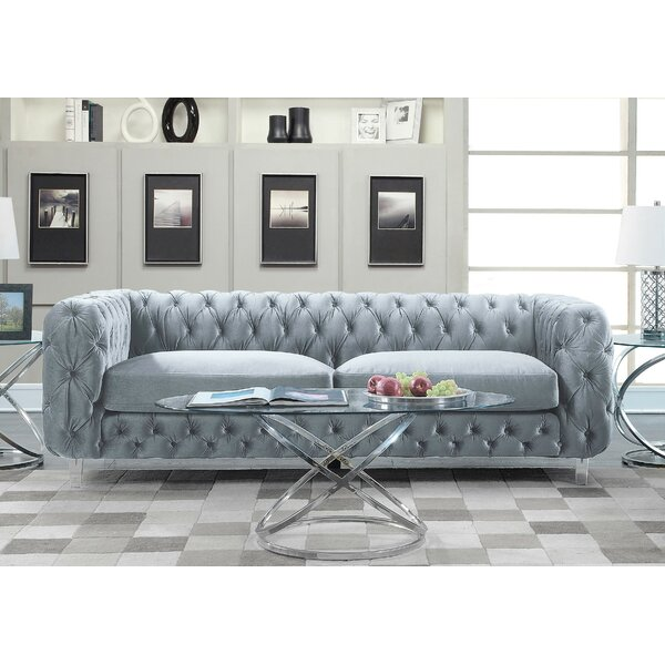 Cool Collection Bourn Standard Sofa by Everly Quinn by Everly Quinn