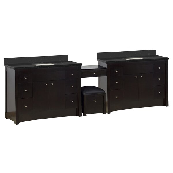 Sharples 116 Double Bathroom Vanity Set