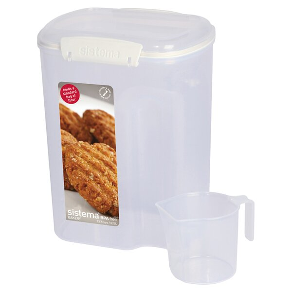 Cup Flour 109.6 Oz. Food Storage Container by Sistema USA