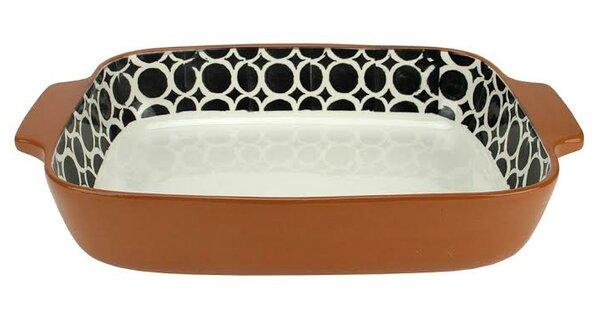 Basic Luxury Circle Rectangular Terracotta Oven Baking Dish by Northlight Seasonal
