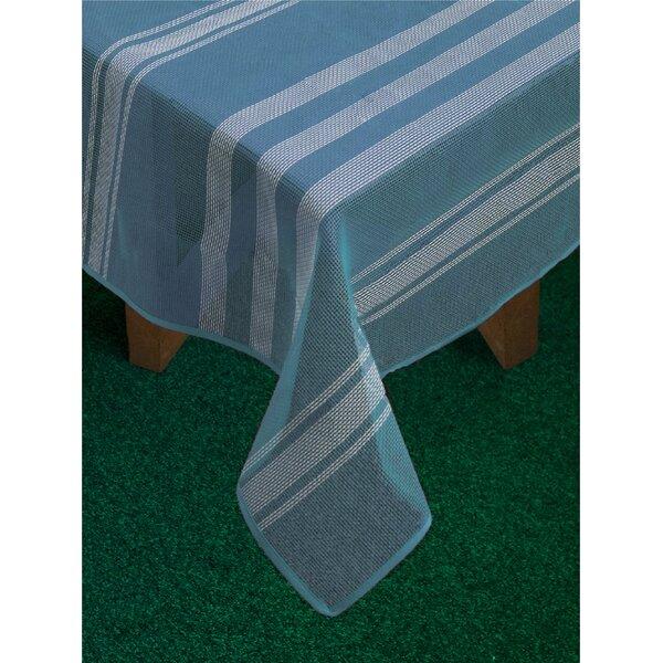 Rhian Stripe Tablecloth by Highland Dunes