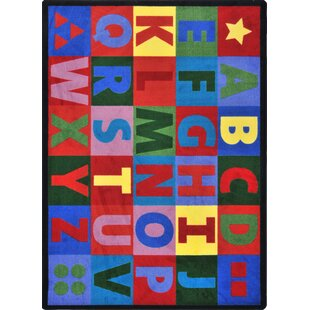Best Hand-Tufled Blue/Red Kids Rug By The Conestoga Trading Co.