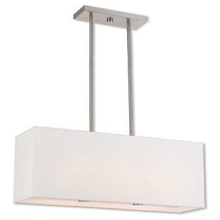 Briceno Linear 2-Light Kitchen Island Pendant  sc 1 st  Wayfair & 2 Light Pendants Youu0027ll Love | Wayfair