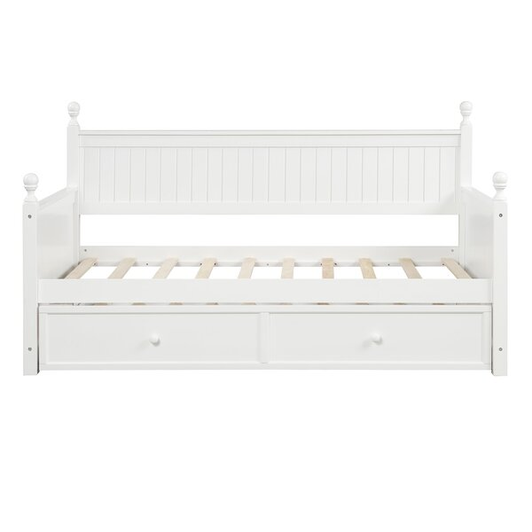 Lisenby Twin Daybed With Trundle By Rosecliff Heights