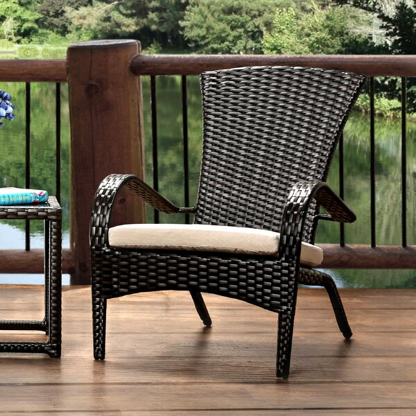 Sheila Patio Arm Chair with Cushion by Hokku Designs