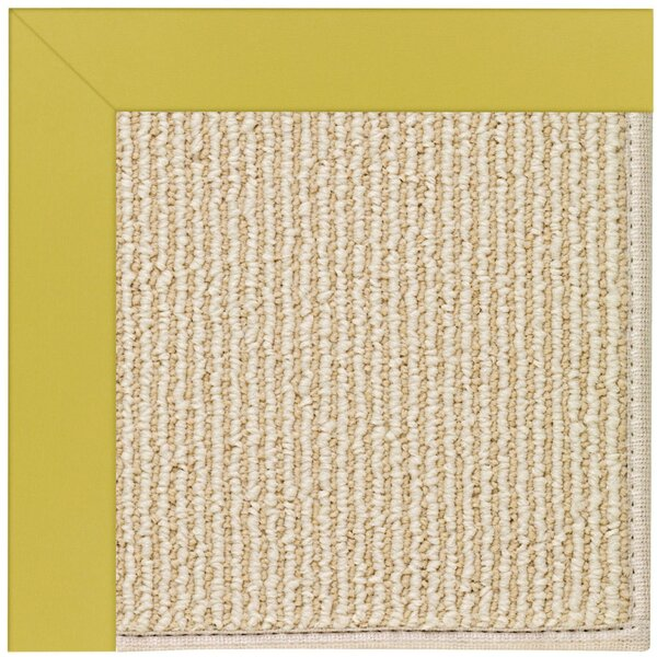 Lisle Machine Tufted Citronella Indoor/Outdoor Area Rug by Longshore Tides