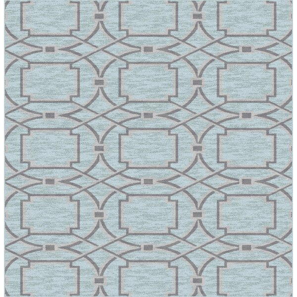 Figueiredo Gray Area Rug by Ivy Bronx