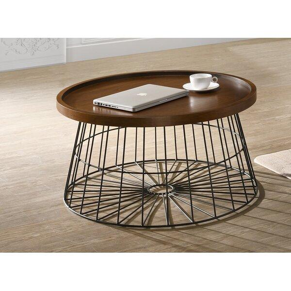 Renwick Wooden Coffee Table