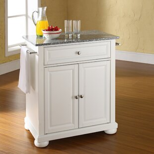 Pottstown Kitchen Cart with Granite Top by DarHome Co