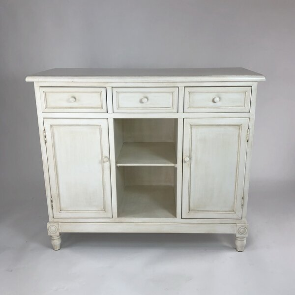 Leonard 3 Drawers Accent Cabinet by August Grove August Grove