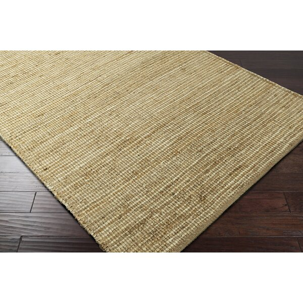 Langhorne Hand-Woven Green/Neutral Area Rug by Gracie Oaks