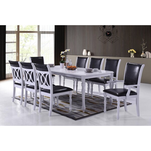 Ximena Modern 9 Piece Dining Set by Rosdorf Park
