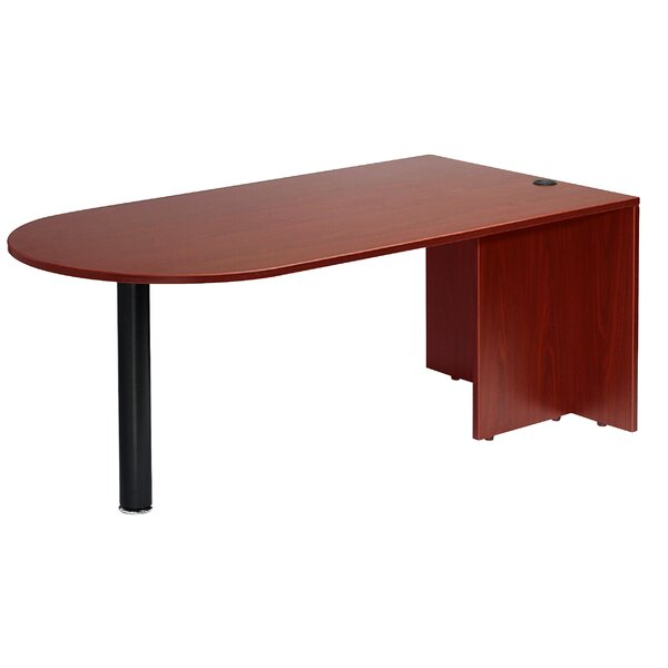 Bullet Desk Shell by Boss Office Products