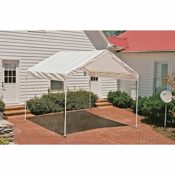 Max AP 10 Ft. W x 10 Ft. D Steel Pop-Up Canopy by ShelterLogic