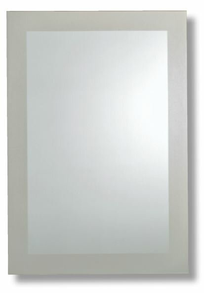 Protagoras Frosted Border Bathroom/Vanity Mirror by Orren Ellis