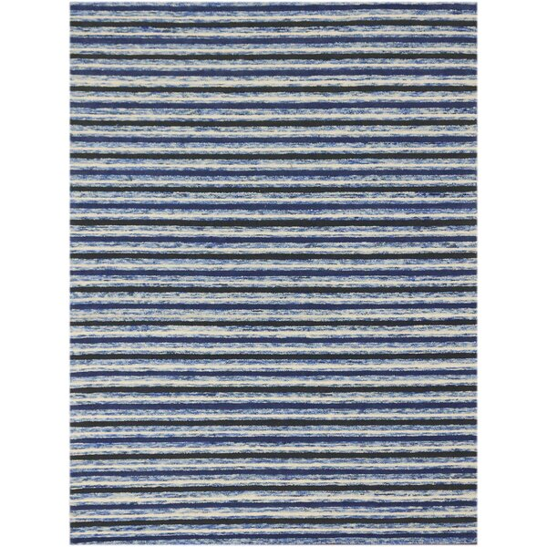 Brookes Hand-Tufted Blue Area Rug by Highland Dunes