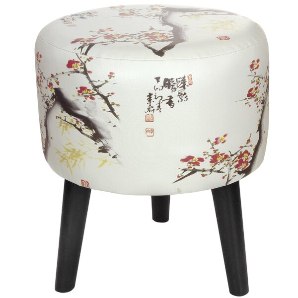 Cherry Blossom Stool by Oriental Furniture