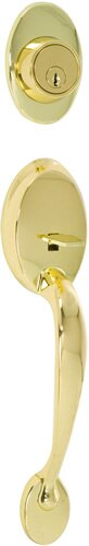 Colton Single Cylinder Entrance Handleset, Exterior Handle Only by Callan