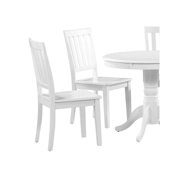 Marconi Solid Wood Dining Chair (Set of 4) by Charlton Home