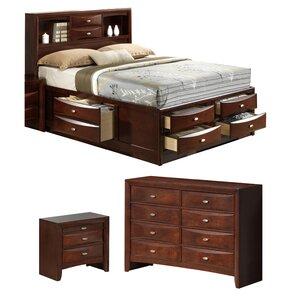 Linda Platform Configurable Bedroom Set by Global Furniture USA
