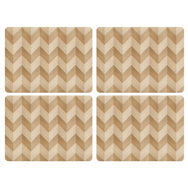 Chevron Placemat (Set of 4) by Pimpernel