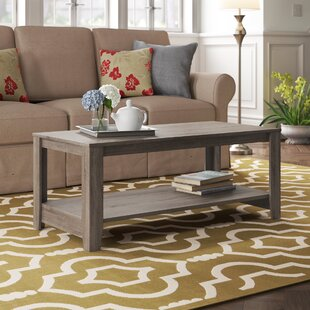 Hille Coffee Table with Storage by Highland Dunes