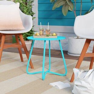 Savings Huntsberry Coffee Steel Bistro Table ByWrought Studio