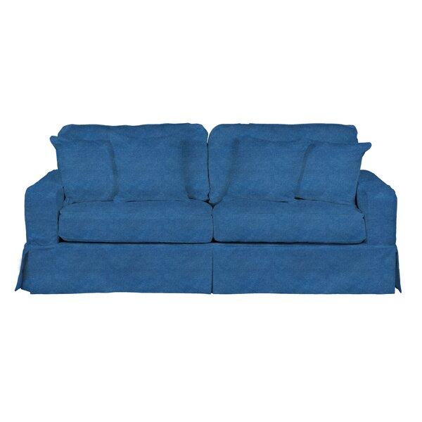 Oxalis T-Cushion Sofa Slipcover by Breakwater Bay