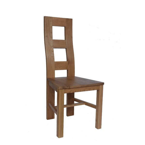 Carbajal Solid Wood Dining Chair (Set of 2) by Loon Peak