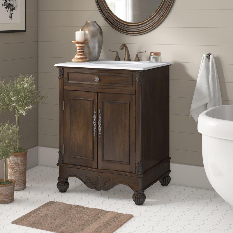 Astoria Grand Torrey 27 Single Bathroom Vanity Set Reviews Wayfair