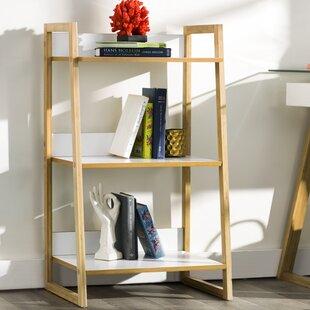 Alexandria 3 Tier Ladder Bookcase Zipcode Design