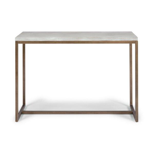 Studebaker Geometric Console Table by Orren Ellis Orren Ellis