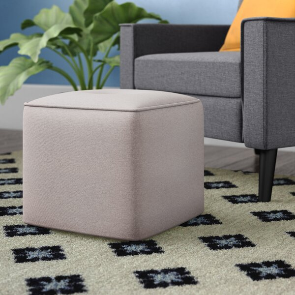 Foye Modern And Contemporary Cube Ottoman By Wrought Studio