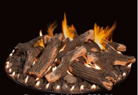 Stainless Steel Gas Fire Ring by Grand Canyon Gas Logs