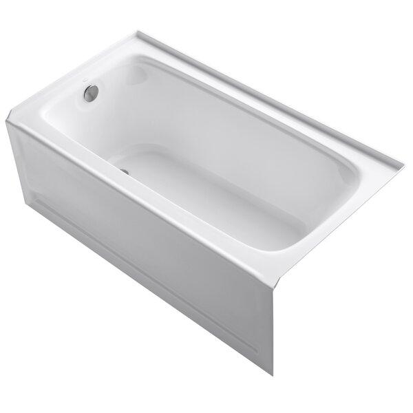 Bancroft Alcove 60 x 32 Soaking Bathtub by Kohler