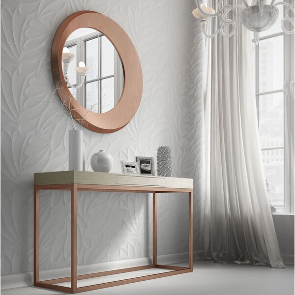 Rashad Console Table and Mirror Set