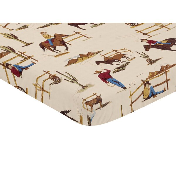 Wild West Fitted Crib Sheet by Sweet Jojo Designs