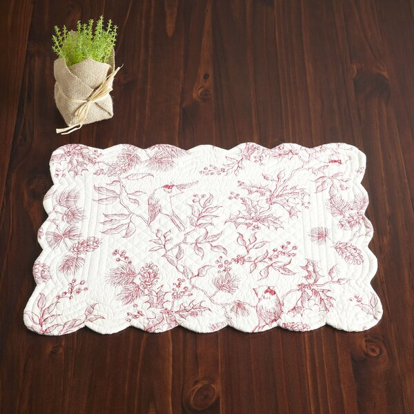 Gloria Gailey Placemats (Set of 6) by Laurel Foundry Modern Farmhouse