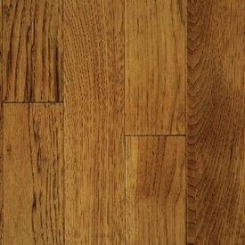 Muirfield 3 Solid Hickory Hardwood Flooring in Saddle by Mullican Flooring