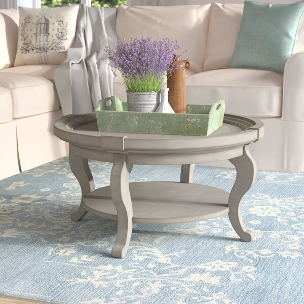 Valeriane Coffee Table with Tray Top by Lark Manor